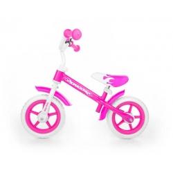 MILLY MALLY Rowerek biegowy DRAGON Z HAMULCEM Pink