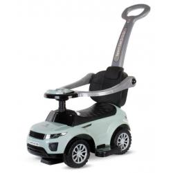 Jeździk z pchaczem pojazd dla dzieci SPORT CAR turkusowy