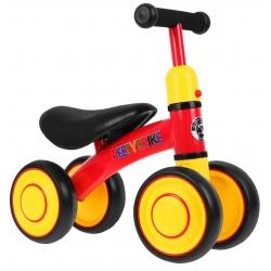 Rowerek SPORTRIKE czterokołowy czerwony
