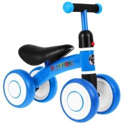 Rowerek SPORTRIKE czterokołowy niebieski