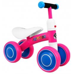 Rowerek SPORTRIKE czterokołowy różowy