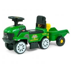 MILLY MALLY Pojazd Rolly Plus Green + przyczepa