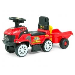 MILLY MALLY Pojazd Rolly Plus Red + przyczepa