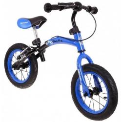 """Rowerek biegowy BOOMERANG 2w1 10-12 """" niebieski"""