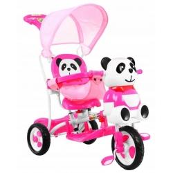 Rowerek trójkołowy PANDA Różowy