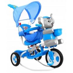 Rowerek trójkołowy SŁONIK Niebieski