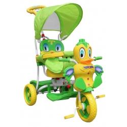 Rowerek trójkołowy KACZKA Zielona