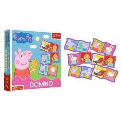 TREFL 02066 Gra Domino Świnka Peppa
