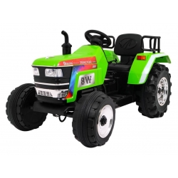 Traktor na Akumulator z Przyczepą Niebieski