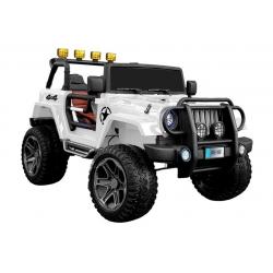 Auto na akumulator JEEP 4x4 WXE-1688 biały