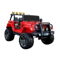 Auto na akumulator JEEP 4x4 WXE-1688 czerwony