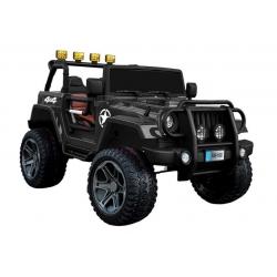 Auto na akumulator JEEP 4x4 WXE-1688 czarny