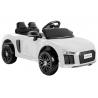 Samochód na akumulator AUDI R8 SPYDER 12V biały