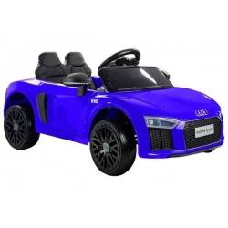 Samochód na akumulator AUDI R8 SPYDER 12V niebieski