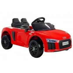 Samochód na akumulator AUDI R8 SPYDER 12V czerwony