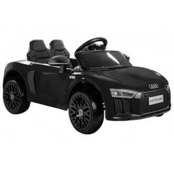 Samochód na akumulator AUDI R8 SPYDER 12V czarny