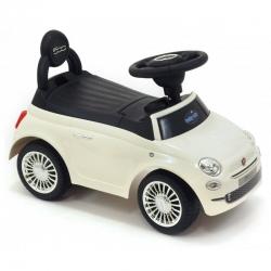 Jeździk pojazd dla dzieci FIAT 500 biały