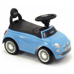 Jeździk pojazd dla dzieci FIAT 500 niebieski