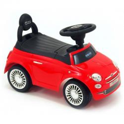 Jeździk pojazd dla dzieci FIAT 500 czerwony