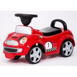 BabyMix Pojazd jeździk  SUPER CAR czerwony