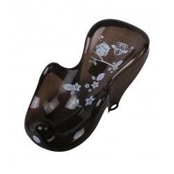 TEGA Fotelik do kąpieli antypoślizgowy SOWA czarna