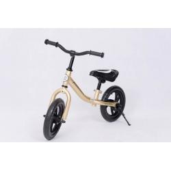 """Rowerek biegowy 12"""" ZŁOTY"""