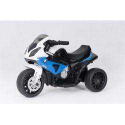 Motocykl na akumulator BMW 1000RR niebieski