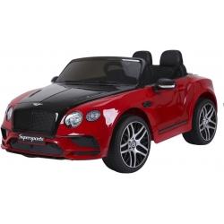 Samochód na akumulator pojazd BENTLEY CONTINENTAL czerwony