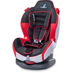 CARATERO Fotelik SPORT TURBO 9-25kg RED