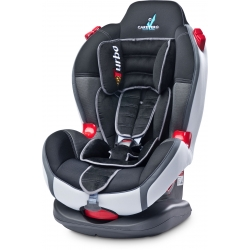CARATERO Fotelik SPORT TURBO 9-25kg GRAPHITE