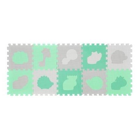 BabyOno Puzzle piankowe ZWIERZĘTA 10 szt