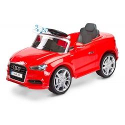 Samochód na akumulator AUDI A3 czerwony