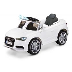 Samochód na akumulator AUDI A3 biały