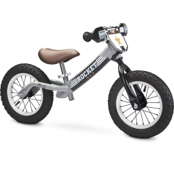 Rowerek biegowy ROCKET grey