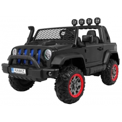 Samochód na akumulator AllRoad 4x4 czarny