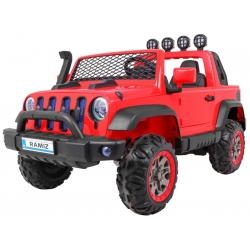 Samochód na akumulator AllRoad 4x4 czerwony