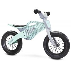 DREWNIANY Rowerek biegowy ENDURO mint