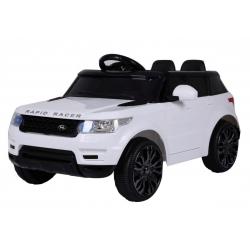 Samochód na akumulator START SUV RUN biały