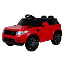 Samochód na akumulator START SUV RUN czerwony