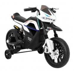 Motocykl motor na akumulator Night Rider Biały