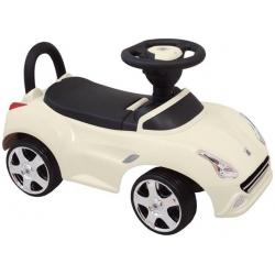 BabyMix Pojazd jeździk LEX biały