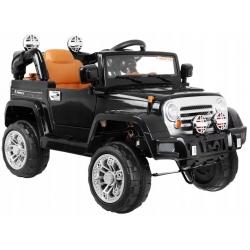 Samochód na akumulator JEEP TERENOWY czarny