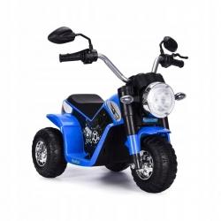 Motocykl motor na akumulator Motorek MiniBike Harley niebieski