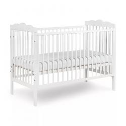 Klupś Łóżeczko dziecięce OLIVER białe 120x60 cm