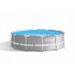 INTEX Basen Stelażowy 366 x 99 cm z Pompą