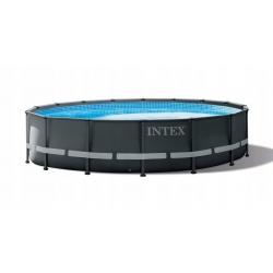 INTEX Basen Stelażowy Ultra XTR Frame 16Ft / 488 x 122 cm z pompą piaskową