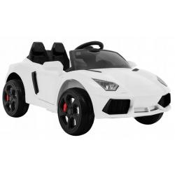 Samochód na akumulator Future ala PORSCHE biały