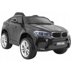Samochód na akumulator pojazd BMW X6M czarny
