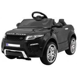 Samochód na akumulator RAPID RACER czarny