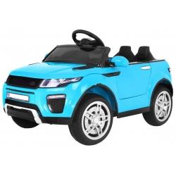 Samochód na akumulator RAPID RACER niebieski